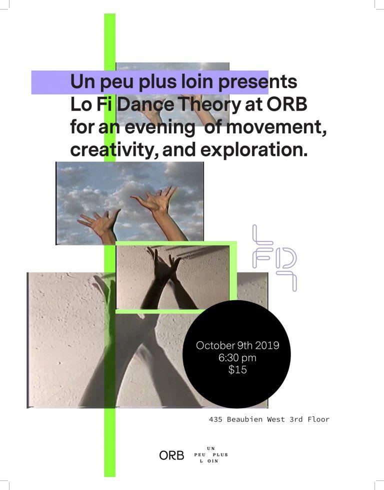 Lo Fi Dance Theory - MONTRÉAL - LFDT @ ORB
